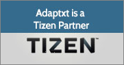 Adaptxt is a Tizen Partner